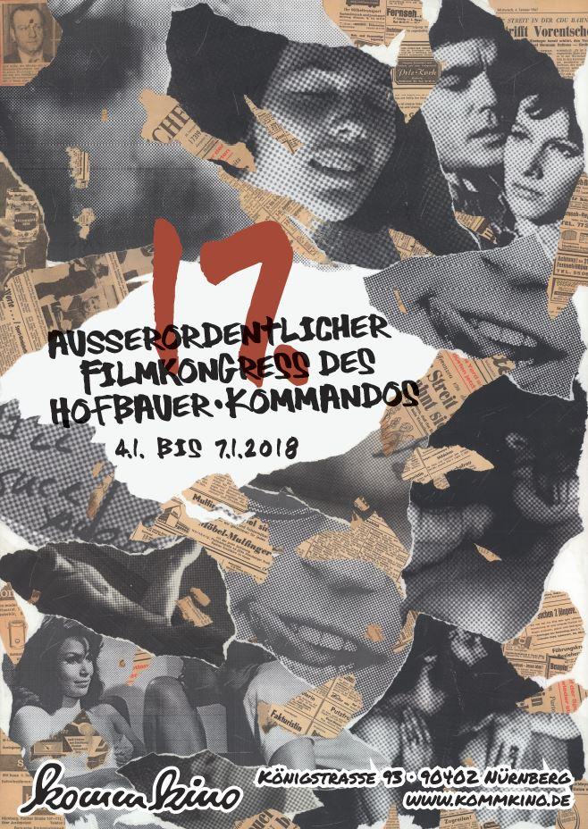 Festivalplakat des 17. Hofbauer-Kongresses 2018 in Nürnberg